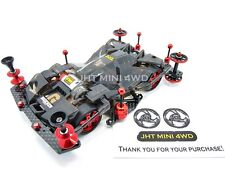 Expert Tuned-Up Tamiya Mni 4WD Black Brocken SFM Chassis with 2016 J-Cup motor