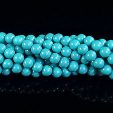 """Czech Opaque Coated Glass Pearl Spacer Beads 4mm 6mm 8mm 10mm 12mm 14mm 16"""" DIY"""