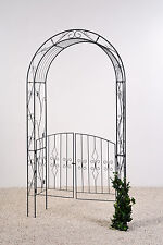 gartentor metall rundbogen in gartentore ebay. Black Bedroom Furniture Sets. Home Design Ideas