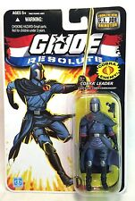 "Hasbro GI Joe Resolute Cobra Leader Commander 3.75"" Action Figure 2008 Animation"