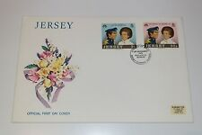Jersey 1973 Royal Wedding FDC 14 November 1973, Free Postage (with insert)