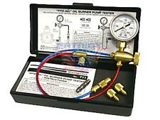 Westwood T11 FITZ-ALL Oil Burner Pump Pressure Test Kit Includes Riello Adapter