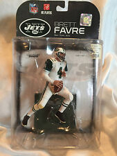 *2008 Collectible McFarlanes Brett Favre #4 NFL NY Jets  White Jersey NOC