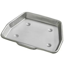 "Galvanized 11"" Metal Ash Collect Pan Tray - 16"" Stove Fire Grate Fireplace 333"