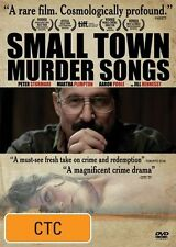 Small Town Murder Songs (DVD, 2011), R 4, Fast & Cheap Post....846