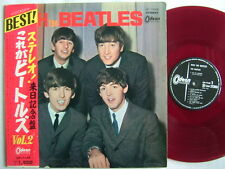 RED VINYL / WITH THE BEATLES / WITH OBI ODEON OP-7549