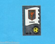 FRANCIA-FOOTBALL 82-PANINI-Figurina n.338-B- CANNES -SCUDETTO/ECUSSON -Rec