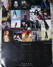Mika Nakashima DEARS Japan Promo 2015-year Calendar Poster