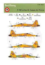 Bestfong Decals 1/48 NORTHROP F-5E TIGER II North Yemen Air Force