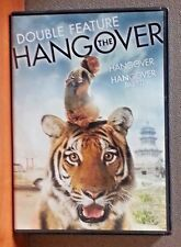 THE HANGOVER PART I & II Double Feature -Bradley Cooper    DVD    LIKE NEW