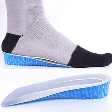 1 Pair Silicone Gel Heel Cushion Foot Care Shoe Insert Pad Insole For High Heel