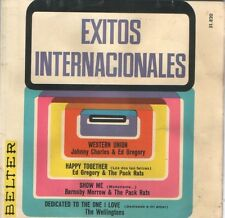 ED GREGORY & THE PACK RATS EP Spain 1967 Happy together +3