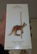 Hallmark Happy Kangaroo Carousel Series Ornament Gift Special Edition 2008 MIB