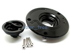 Gas Cap Fuel Oil Petrol Tank Cover Black For Honda CBR 900RR CBR 954RR 2002-2003
