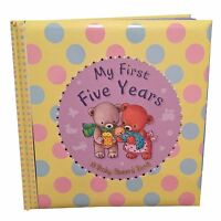 """Baby Record Book, Baby Keepsake Diary, Padded """"My First Five Years"""" Baby Shower"""