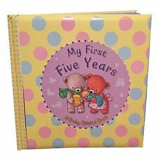 "Baby Record Book, Baby Keepsake Diary, Padded ""My First Five Years"" Baby Shower"
