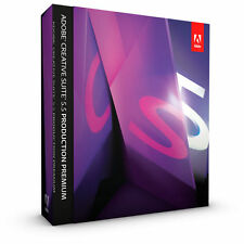 Adobe Creative Suite 5.5 Production Premium (Commercial / Mac / Retail Package)