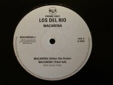"RARE  MINT UNUSED . PROMO 12"" VINYL SINGLE . LOS DEL RIO . MACARENA .SLITHER MIX"