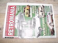 µµ Retromania n°70 Ford Consul 315 Rallye de Paris Alfa 2000 Venturi