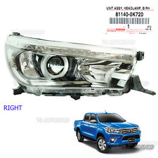 Fit Toyota Hilux Revo Sr5 M70 M80 15 16 Right Led Head Lamp Light Projector OEM