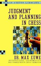 Judgment and Planning in Chess, Euwe, Max, New Book