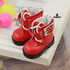 Yosd 1/6 BJD Shoes Dollfie DREAM Boots DOD SOOM DIM Luts Dollmore AOD Shoes #Red