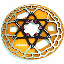 gobike88 The Lightest ASHIMA AiNEON Disc Rotor, 160mm, 71g, Black, W57