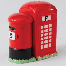 TELEPHONE & POST BOX SALT & PEPPER SHAKERS NEW BOXED A23379 RRP: £13!