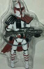 Star Wars ALPHA Figure Red Clone ARC Trooper Commander Evolutions Commandos