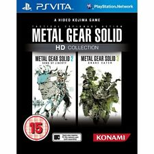 Metal gear solid hd collection jeu ps vita neuf