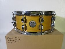 "Mapex Meridian Maple Snare Drum 14 X 5.5""  Glossy Natural - 10 Lugs"