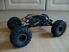 CUSTOM LOSI COMP CRAWLER 1/10 SCALE ROLLING CHASSIS CHISEL TYRES AXLE EXTENDERS