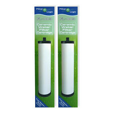 2 x FilterLogic Multi-Stage Ceramic Water Filters to replace Franke FilterFlow