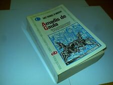 AMADIS DE GAULA (GARCI RODRIGUEZ DE MONTALVO) 1ª EDICIÓN 1969 LIBRO RARO