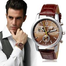 2015 Luxury Fashion Crocodile Faux Leather Mens Analog Watch Watches WHOLESALE
