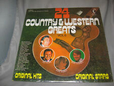 24 Country & Western Greats-(1972) Vol 6-K-Tel Records-LP WU 321