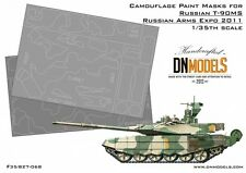 Russian T-90MS Camouflage Paint Masks RAE 2011 1/35 DN Models