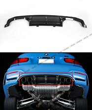 2015-17 BMW M3 F80 SEDAN SPORT CARBON FIBER REAR BUMPER QUAD EXHAUST DIFFUSER