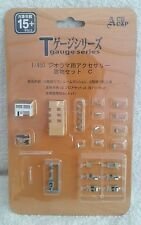 T Gauge Model Railway 1/450th scale buildings new and sealed on card by ace cap