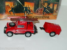 Matchbox MOY FIRE ENGINE SERIES 1952 LAND ROVER FIRE TRUCK -Red, 1/43 MIB