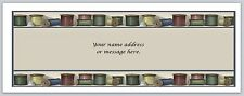 30 Personalized Return Address Labels Sewing Buy 3 get 1 free (bo 503)
