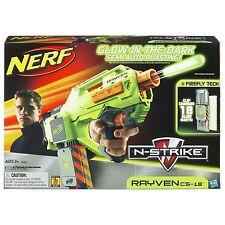 Brand New NERF N-Strike RAYVEN CS-18 Dart BLASTER Rare