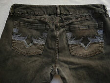 DIESEL CLASSIC BLACK MENS JEANS SIZE: 33X31 RARE PAIR *STYLE: X-ROTUCK LAB: 314