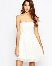 Laced In Love Strapless Lace Dress UK 12/EU 40/US 8