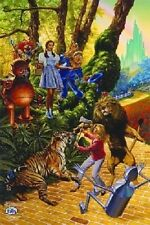 Wizard of OZ WONDERLAND CHRONICLES POSTER Judy Garland  NEW OOP