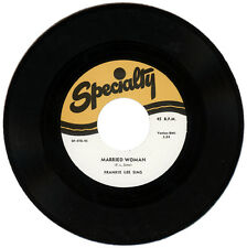 """FRANKIE LEE SIMS  """"MARRIED WOMAN""""   CLASSIC R&B MOVER    LISTEN!"""