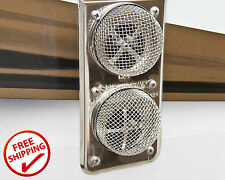 RV Trailer Camper Motorhome Fly Insect Screen 2pc Protect Bug Bird Furnace Vents