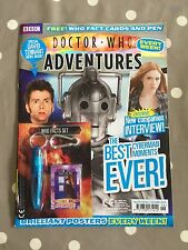 DOCTOR WHO ADVENTURES MAGAZINE Issue 121 With Free Gifts - Free Postage