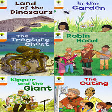 Oxford Reading Tree, Level 6: Stories, 6 Books Collection Set (Robin Hood)