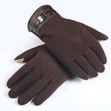 New Mens Gloves Winter Gloves Outdoor Driving Mittens Wrist Gloves Free Shipping